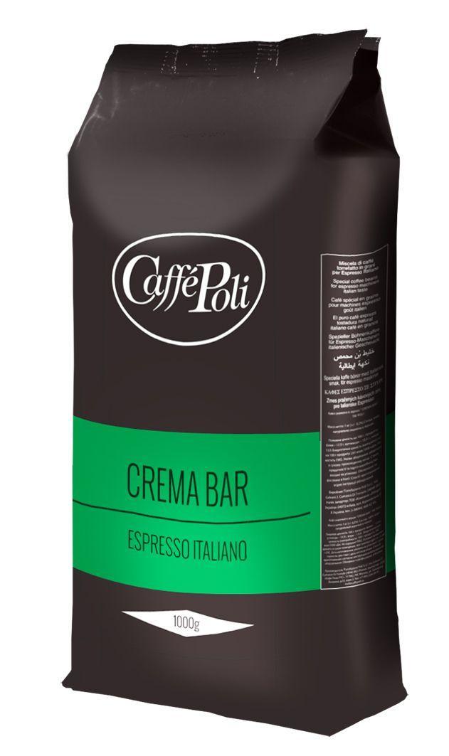 Кофе Caffe Poli Crema Bar (1000 г) в зернах