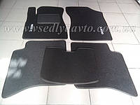Ворсовые коврики в салон Geely MK (Серые)