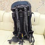 Туристический рюкзак 68 литров вместительный стильный, фото 3
