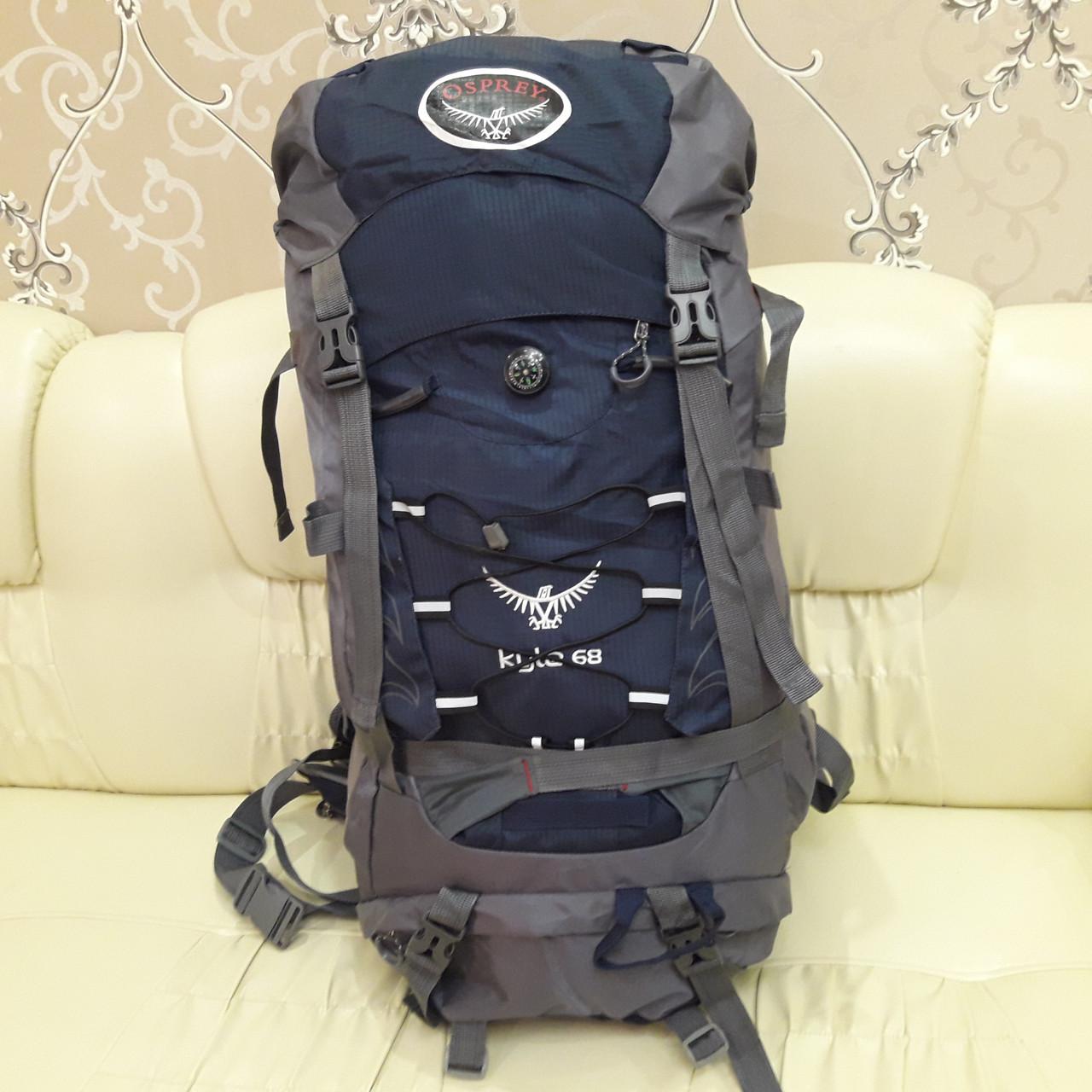 Туристический рюкзак 68 литров вместительный стильный