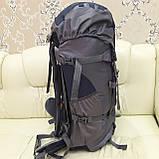 Туристический рюкзак 68 литров вместительный стильный, фото 2