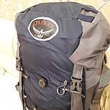 Туристический рюкзак 68 литров вместительный стильный, фото 4