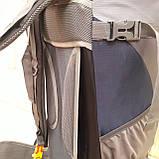 Туристический рюкзак 68 литров вместительный стильный, фото 5