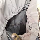Туристический рюкзак 68 литров вместительный стильный, фото 9