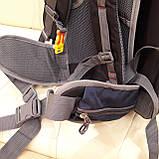 Туристический рюкзак 68 литров вместительный стильный, фото 10
