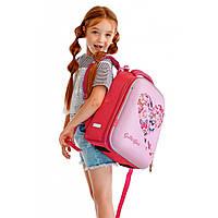Рюкзак школьный каркасный 1 Вересня для девочки