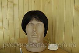 Чоловічий перуки з натуральних волосся РЕМІ