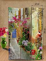 Ширма 180х126 «Цветочный дворик»