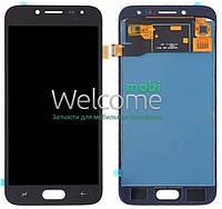 Модуль Samsung SM-J250F Galaxy J2 Pro 2018 black с регулируемой подсветкой дисплей экран, сенсор тач скрин самсунг гэлэкси ж2 про