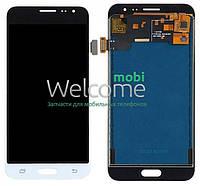 Модуль Samsung SM-J320F Galaxy J3 (2016) white с регулируемой подсветкой дисплей экран, сенсор тач скрин самсунг гэлэкси ж3