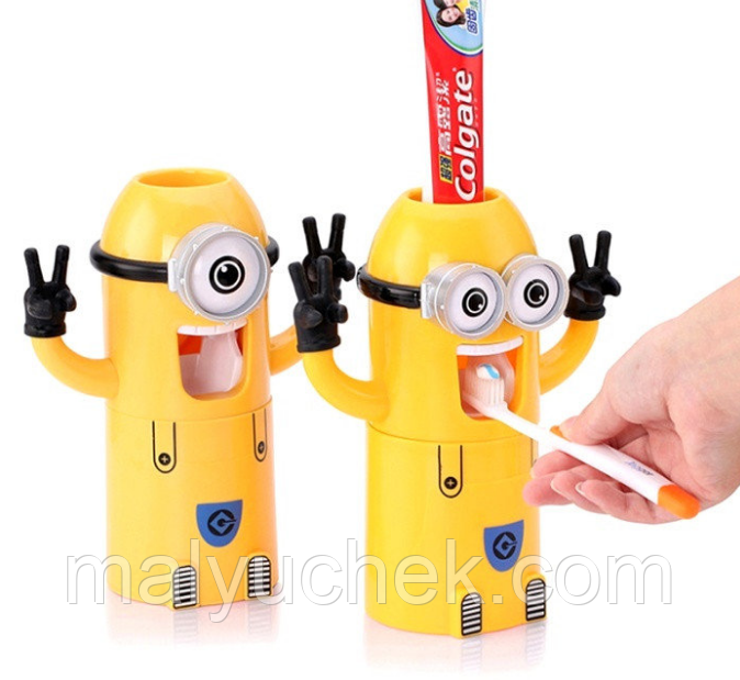 Дозатор зубной пасты Миньон dzmin111