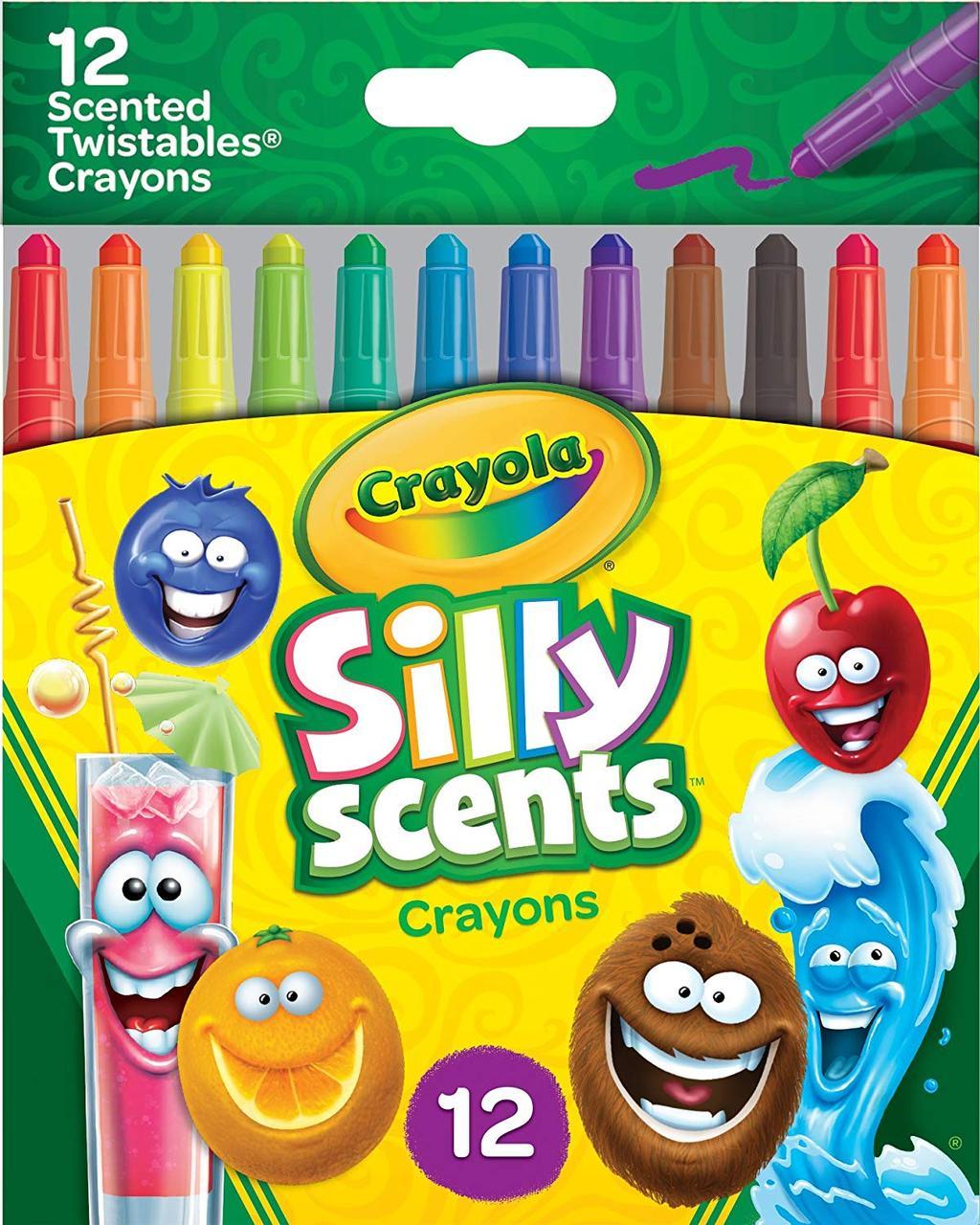 Crayola Набір ароматних воскових олівців 12 кольорів