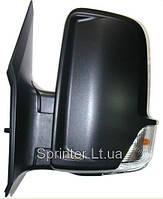 Зеркало заднего вида Sprinter/Crafter 06- L (механика)