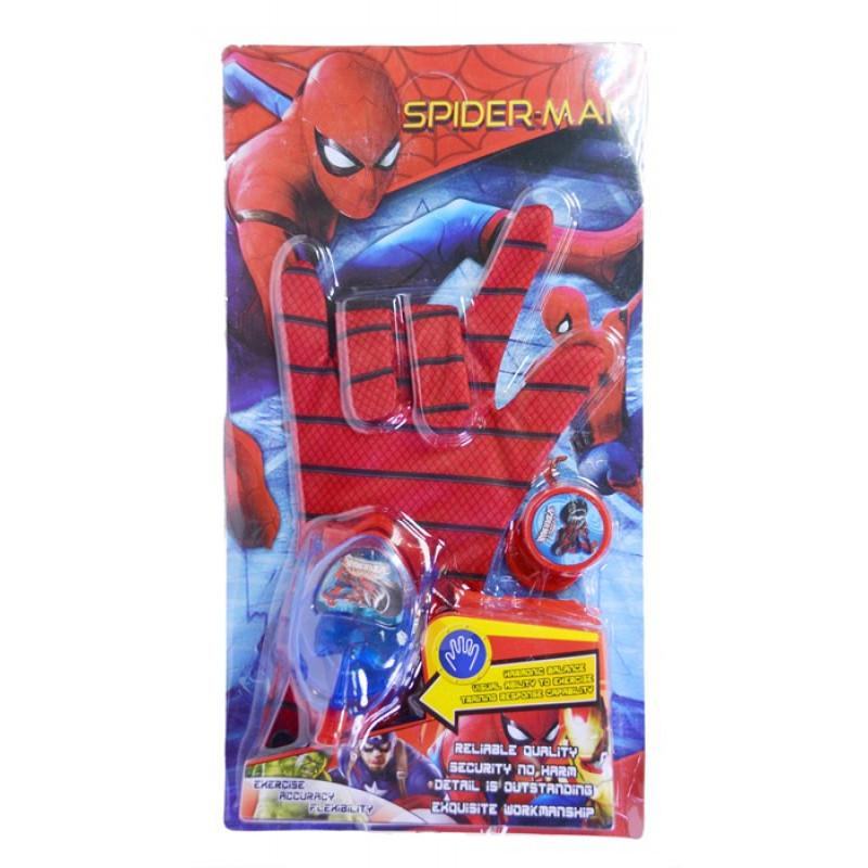 Перчатка Человек паук ABC  ИНТЕРАКТИВНАЯ (Спайдермен)