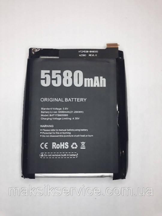 Оригинальный аккумулятор (АКБ, батарея) BAT17S605580 для Doogee S60 | S60 Lite 5580mAh