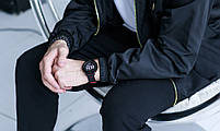 Смарт браслет SENBONO CF58 Black with red с тонометром, фото 10