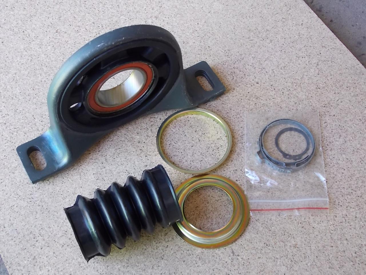 Подшипник подвесной MB Sprinter/VW Crafter 06- (d=47mm) (пыльник + хомуты)