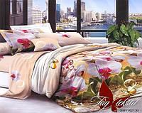 Семейный комплект постельного белья с 3D эффектом XHY2130