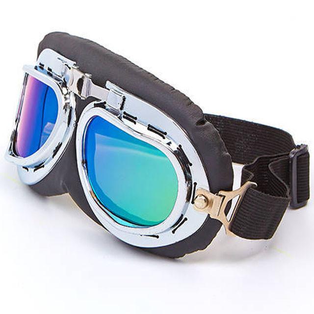 Очки мотоциклетные ретро MS-4434