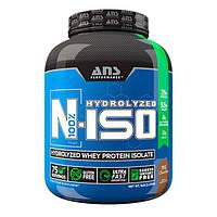 Изолят сывороточного протеина ANS Performance N-ISO 100% Hydrolyzed молочный шоколад 2,27 кг