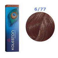 Краска для волос Wella Koleston Perfect № 6/77 (кофе со сливками) - deep browns