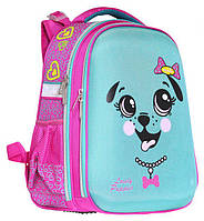 Ранец CLASS Puppy 39 х 28 х 21 см 19 л для девочек Розовый/Бирюзовый (9902/8591662990201)