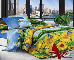 Семейный комплект постельного белья с 3D эффектом XHY1944
