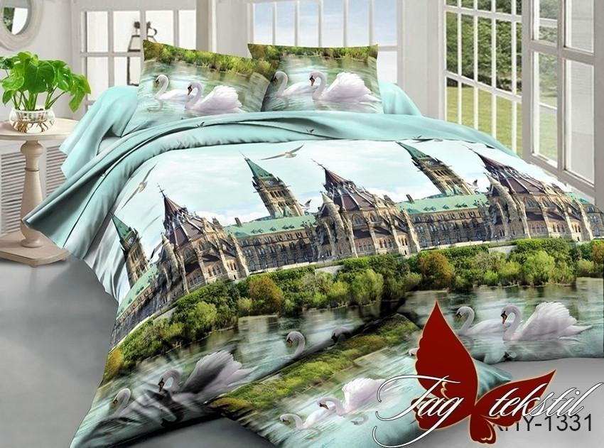 Двуспальный комплект постельного белья с 3D эффектом XHY1331