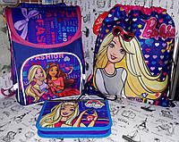 Набор для Девочки Стильные девочки Барбирюкзак, пенал , сумка для обуви, фото 1
