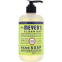 Жидкое мыло для рук  с ароматом лимона и вербены Mrs. Meyers Clean Day, 370 мл