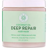 Маска глубокого восстановления для волос Pure Body Naturals, 260 мл