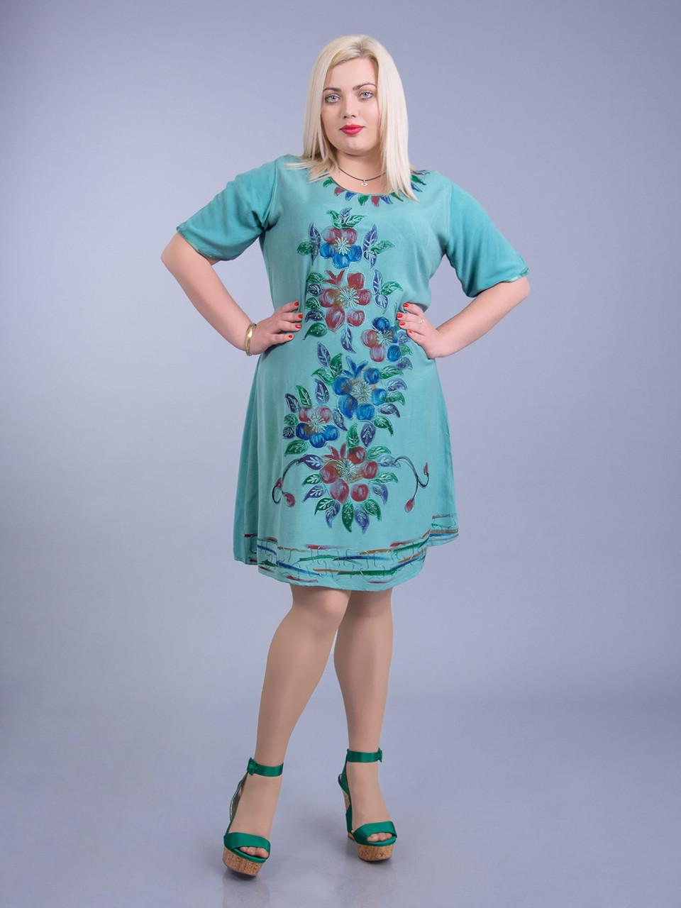 5a43526d75bd Платье женское батал летние Платья больших размеров оптом - BEREZKA SHOP в  Киеве