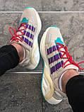 Стильні чоловічі кросівки Adidas ZX 600, фото 4