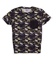 Стильная спортивная футболка геометрия Crivit 122-1128