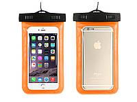 Waterproof чехол для смартфона Getihu  Оранжевый