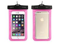 Чохол для мобільного телефону Getihu водонепроникний 5,5  Рожевий