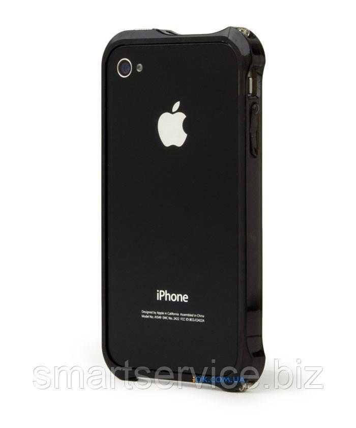 Чохол-бампер Elementcase Vapor Comp для iPhone 4 / 4S, чорний