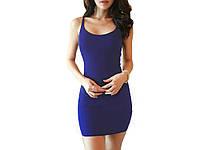 Обтягивающее Женское платье Magic L L Темно синий