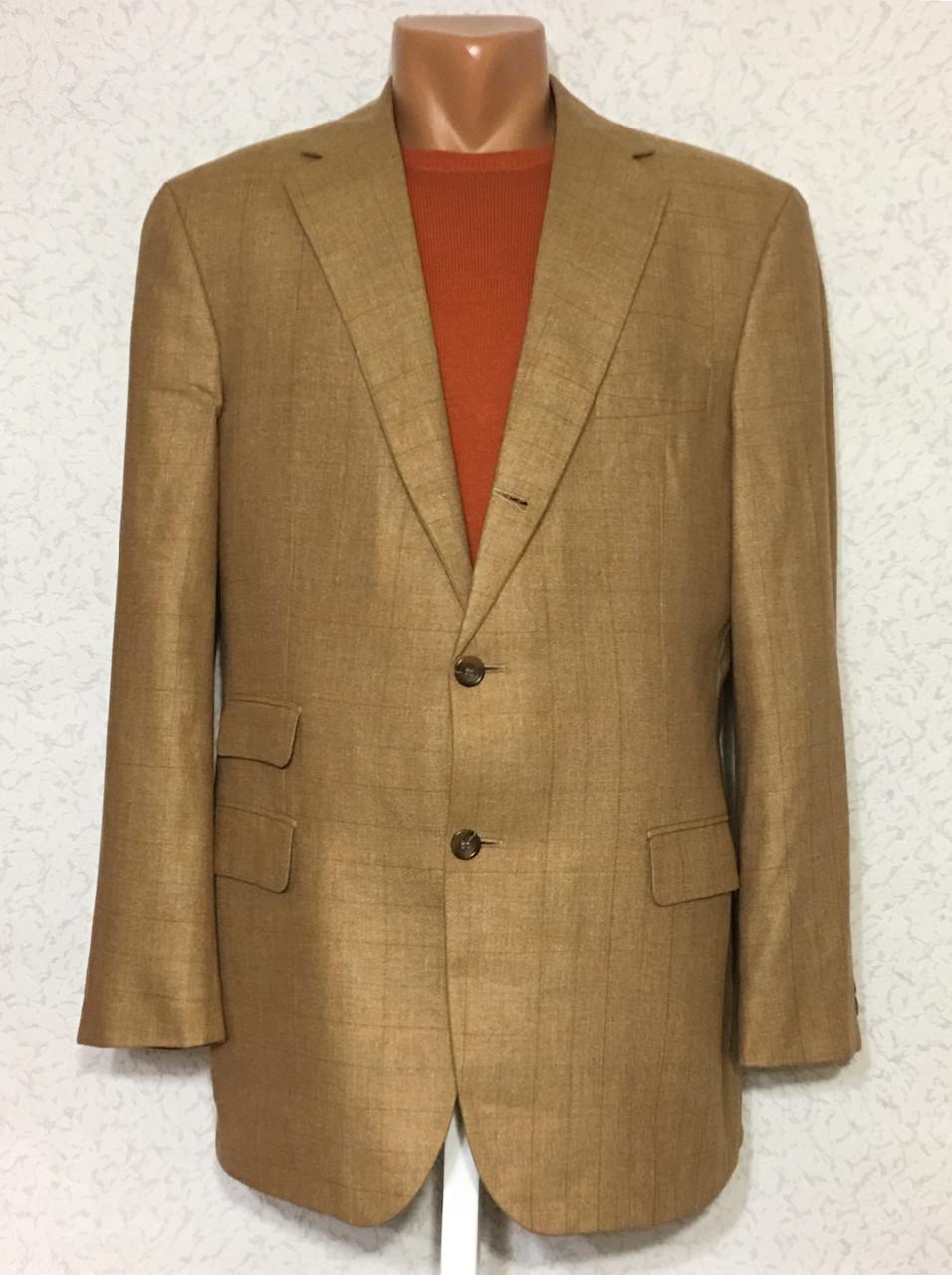 Пиджак OSCAR JACOBSON (шелк+шерсть) - 52