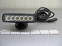 Светодиодная фара LED GV-2218W flood на магните , фото 1