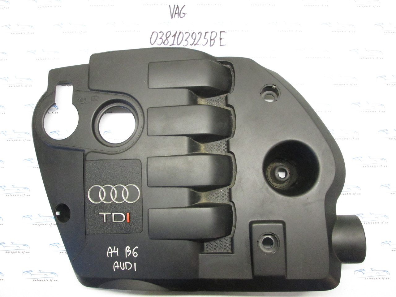 Накладка двигателя декоративная Audi A4 B6 1.9TDI 038103925BE