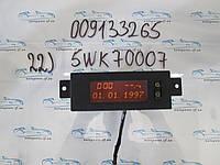 Бортовой компьютер Опель Астра, Astra G №22 009133265, 5WK70007