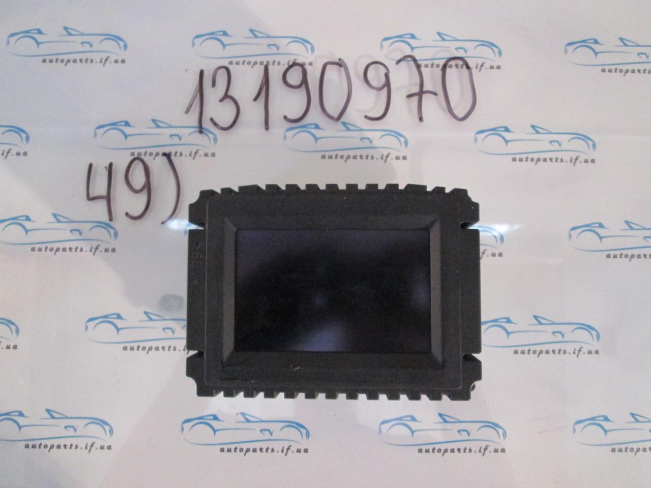 Бортовой компьютер Опель Вектра, Vectra C 3.0DTI №49 13190970 pin
