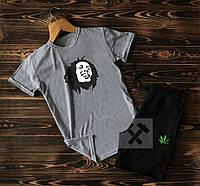 Cпортивные Мужские шорты и футболка Bob Marley (Боб Марли) / Летние комплекты для мужчин