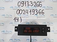Бортовой компьютер Опель Астра, Astra G №14 09133266, 002419366