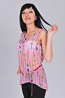 Блузка молодежная легкая летняя блуза