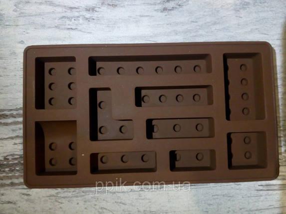 Форма силиконовая Лего маленькая, фото 2