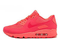 Женские кроссовки Nike Air Max 90 Hyperfuse Coral Red размер 39 Коралловый UaDrop109905-39, КОД: 234210