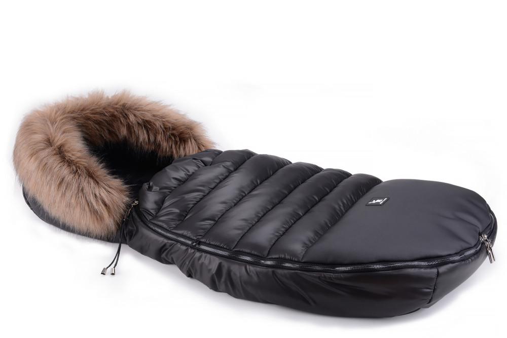 Зимний конверт Cottonmoose Alaska Premium 729/65 black (черный-черный)