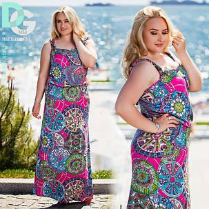"""Бат27/1 Длинное платье """"Корнелия"""" размеры 50-56, фото 2"""